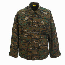 Manufacture Design Camo Military Uniforms Digital Woodland Bdu Army Uniform Anti-uv Bdu Shirts And Pants