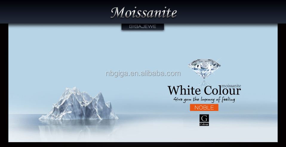 Special high quality moissanite diamond by facets loose gemstone hardness