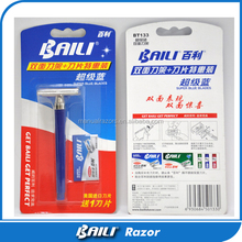 Disposable One Time Razor With Single Blade For Safety Razor
