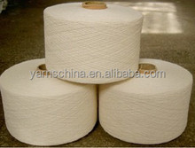 Cheap recycled yarn with 30% nylon and 70% cotton blend yarn wholesale