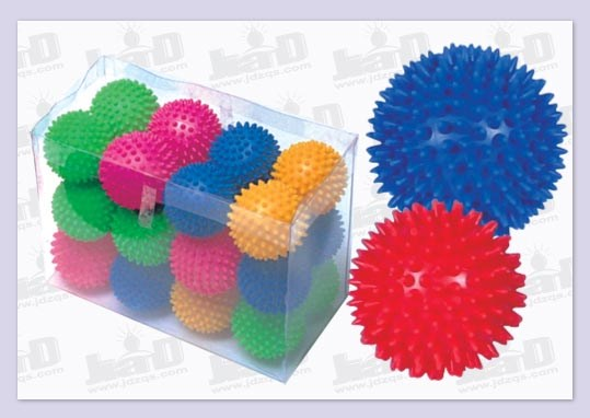 PVC Spiky Massage Toy Ball for Foot and Hand