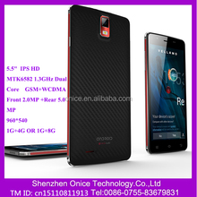 F55 3g phone manufacturing company in china 5.5 inch 1G+8G MTK6582 shenzhen mobile phone original mobile phone made in china