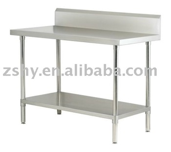 stainless steel 304 workbench