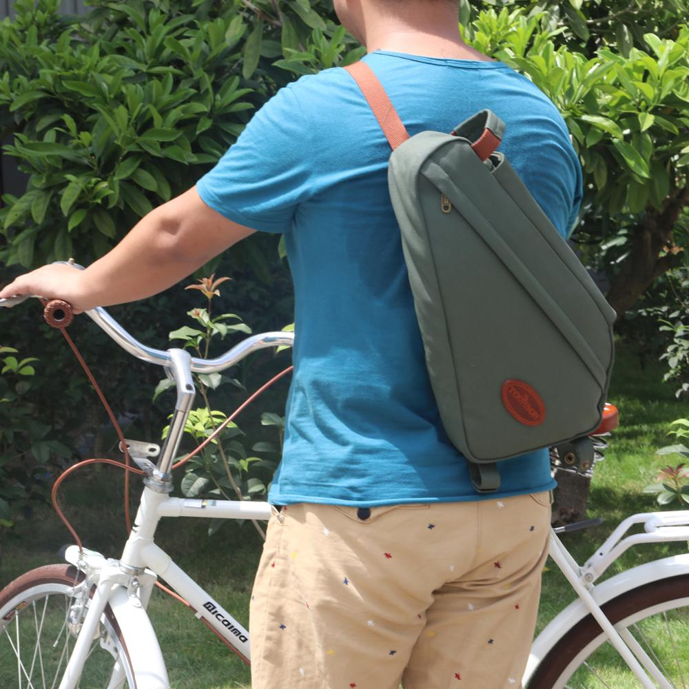 2017 Professional outdoor waterproof canvas bike bag for travel