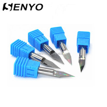 Senyo Tungsten Carbide CNC Engraving Bit For Wood