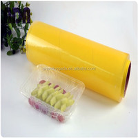 OEM food packaging plastic roll film with cheap transparent pvc film price