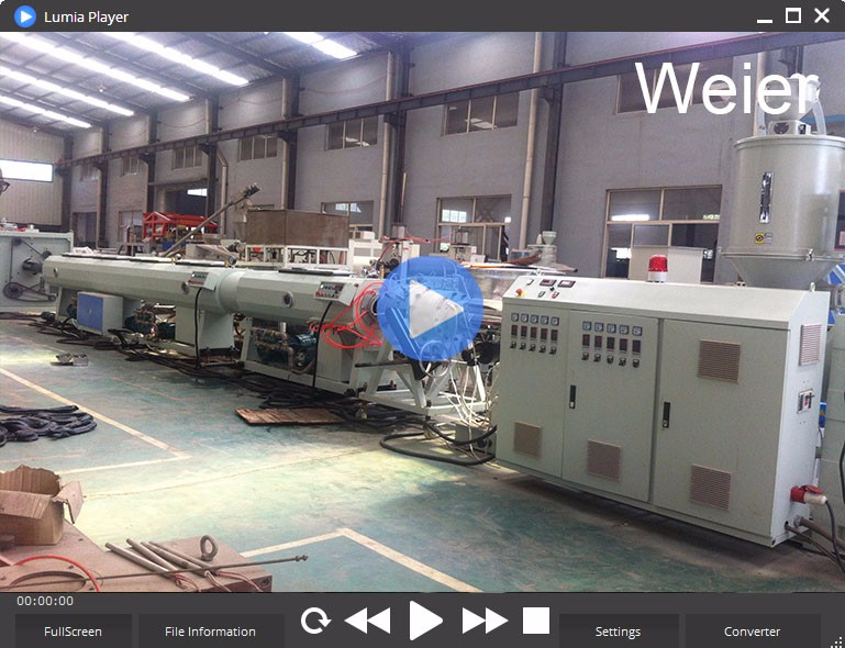 PP PPR PE Pipe extrusion line HDPE pipe making machine Many types of plastic extruders machinery with good quality