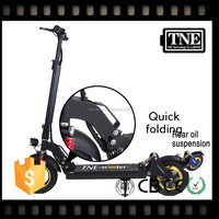 TNE easy carry 1000w solid tire adult portable high speed scooter