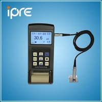 high precision paint coating thickness gauge meter ferrous and nonferrous