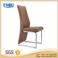 Wholesale China Metal Chromed Dining Chair Dining Room Furniture