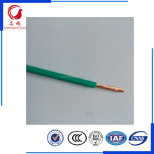 green color electrical wiring industrial electric wires or wire electric from supplier