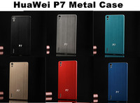 Luxury Appearance Metal Back Cover For HuaWei P7 Case,Strong Texture Aluminum Case For HuaWei P7