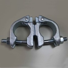 scaffolding steel clamp british type swivel coupler