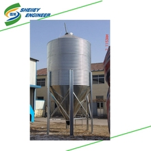 Silo manufacturer steel grain sorghum storage silo for sale
