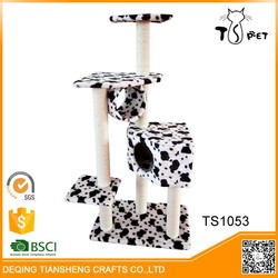 Different Colors cat tree furniture factory direct sale