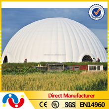 2015 PVC customized inflatable construction tent,inflatable dome building,inflatable air tent