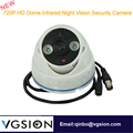 Infrared Night Vision 720P HD Dome Support 32 GB Memory Card Home Security Camera