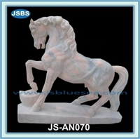 cheap outdoor large marble statue carved horse