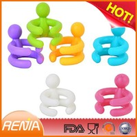RENJIA New production keep fresh anti-dust silicone wine stopper