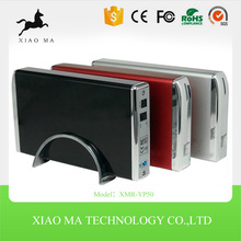 Aluminium alloy USB 2.0 SATA To IDE Combo 3.5inch External Hard Drive / HDD Enclosure XMR-YP50