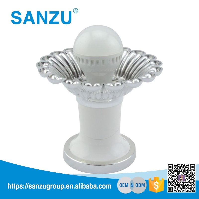 High quality angle lamp holder, decorative lamp holder, types of electrical fittings