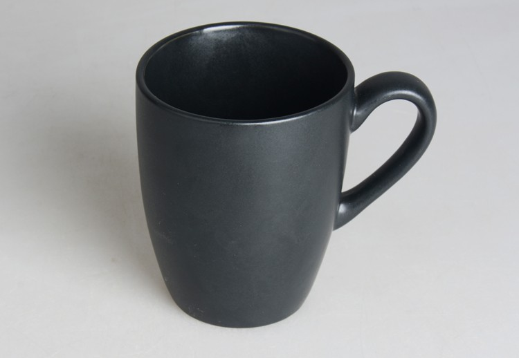 Stoneware Matte Black Color Ceramic Coffee Mug Buy Matte