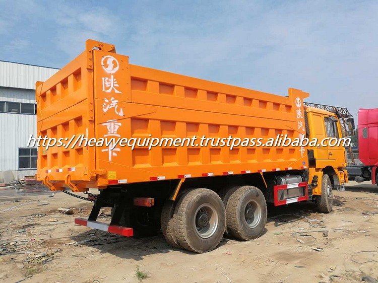 Used China made F3000 tipper truck munual diesel Shacman 6x4 tipper truck