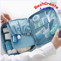 Customized Outdoor travel large capacity travel waterproof wash bag, combed bag, multi function cosmetic bag