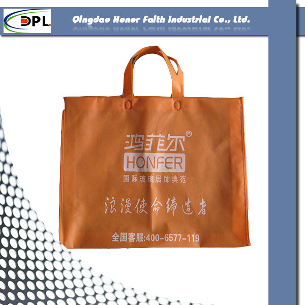 Modern New Design High Quality Promo Non-Woven Market Tote Bag