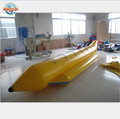 Funny inflatable banana boat on lake custom inflatable banana boat
