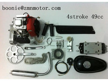 4 Stroke Moped Motor kit/ Bicycle Engine Kit with red color