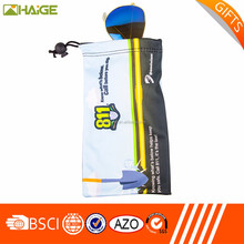 Brand new customized microfiber sunglasses pouch, mobile pouch,drawstring bags with factory price