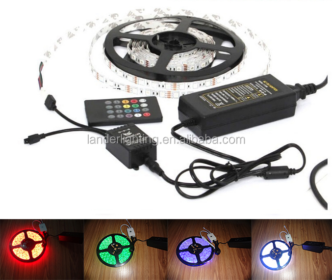 Output Switching Power Supply for flexible 5050 waterproof rgb 24v led strip
