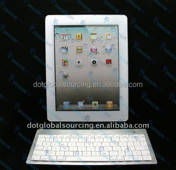 Factory Price Metal Wireless Bluetooth Keyboard for laptop