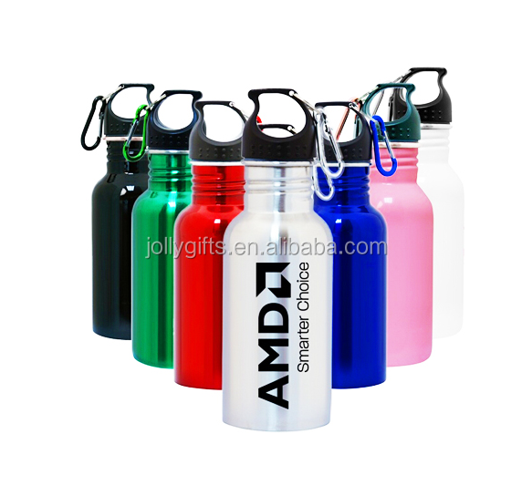 17oz Stainless Steel Water Bottle Sport Flask