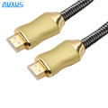 Hi-end video cable braided cotton sleeve cable hdmi for PS4 HDTV XBOX PS3