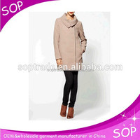 latest design casual fashion long women coat wholesale ,russian coat woman