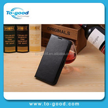 Leather Wallet Mobile Phone Bags & Cases With Card Holder, Waterproof Case For LG Optimus G2 (Black)