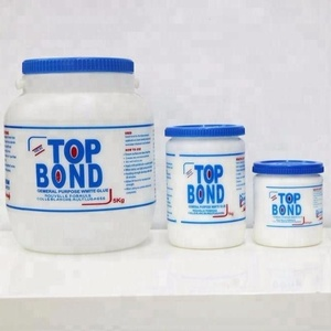 Factory Price Furniture Bulk Plastic Bottle Top Bond Adhesive Cement White Wood Glue
