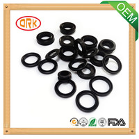 Black waterproof NBR round flat rubber gasket