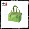 Embroidered foldable cooler bags, promotional lunch cooler bag, insulated cooler bags