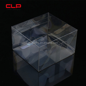 Transparent Display Folding Acetate Plastic Packaging Boxes From Shanghai