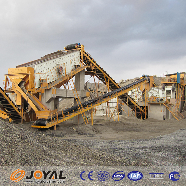 2015 china hot selling complete jaw , impact crusher crushing plants