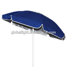 6 ft. Oxford Tilt Beach Umbrella with Vent - Atlantic Blue