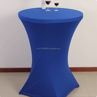 Wholesale Cocktail Spandex Lycra Polyester Table Cover