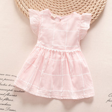 2016 summer new fashion kids clothes baby dress pictures cute casual children girl dress