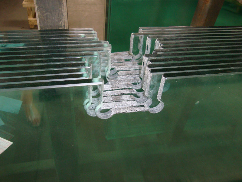Water cutting tempered Glass (AS/NZS2208:1996 )
