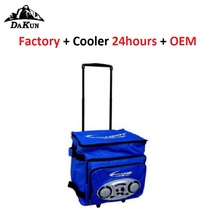 Other Trolley Golf Thermal Fish Cooler Bag with Speaker On Wheels