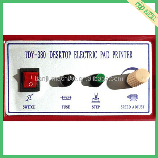 Desktop Electric Code Pad Printer With Ink Cup