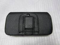 Leather Cases Pouch Holster Belt Clip Horizontal Mobile Phone Bags Cases for cell phone cases